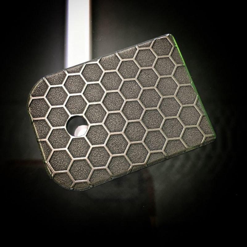 Honeycomb Rugged - Titanium Mag Plate