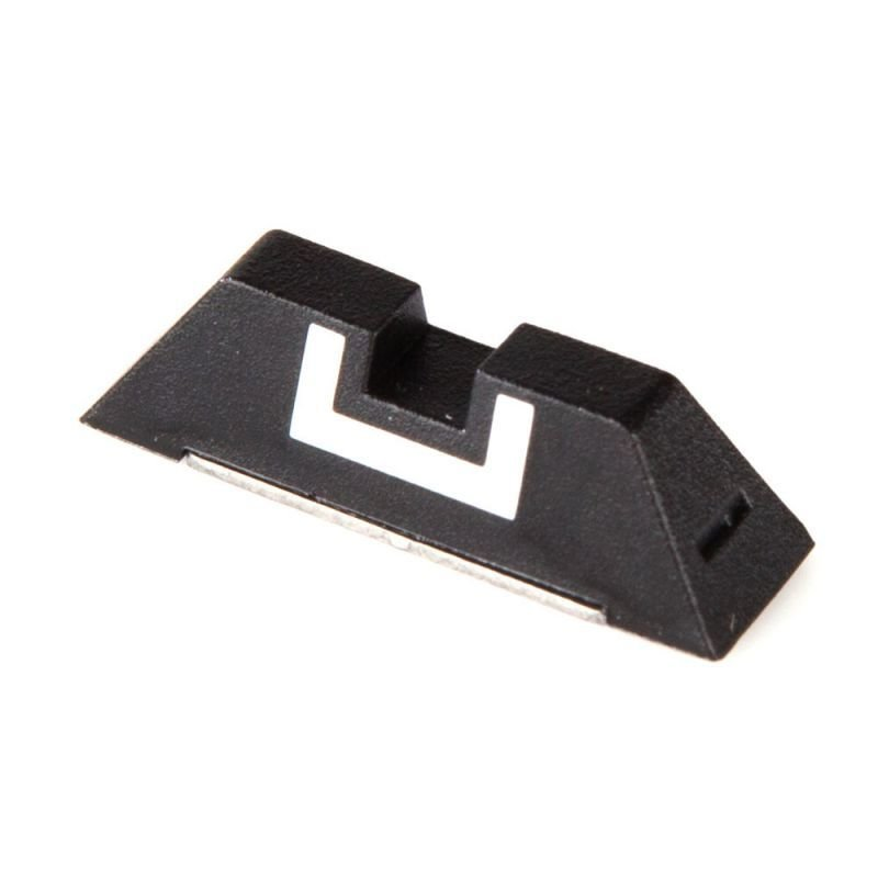 Plastic Fixed Rear Sight (6.5mm) for Glock 17, 19, 22, 23, 24, 26, 27, 33, 34, 35, 37, 38, 39