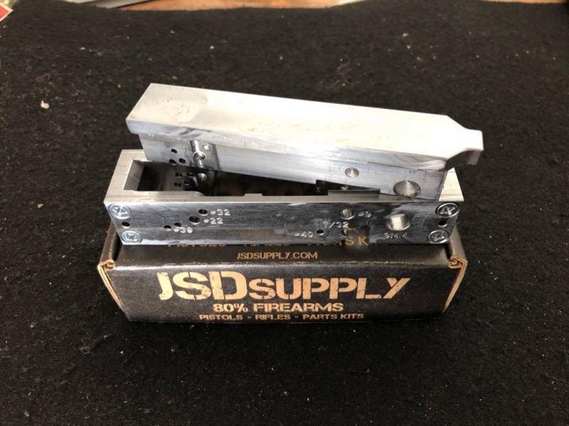 80% Sig Sauer Jig - P320 Compatible Insert - MUP 1