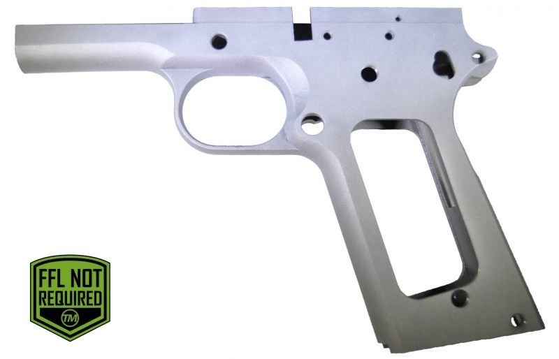 1911 80% 45 ACP Full Size Government Frame - Series 70 Forged 4140 Steel