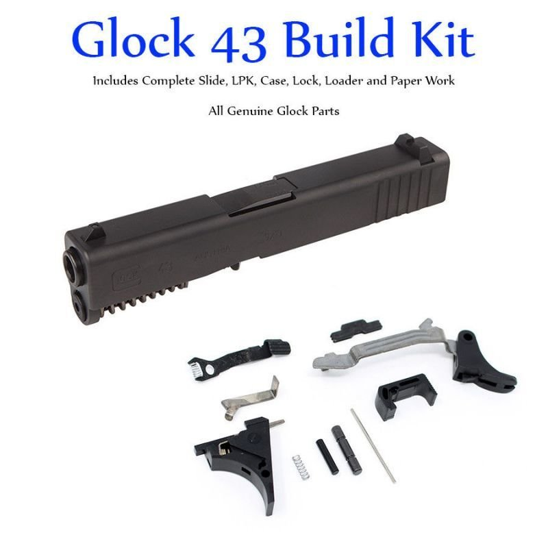 SS80 Glock 43 - Single Stack 9mm Slide & Lower Parts Kit