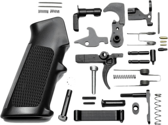 Anderson 5 56/ 223 Lower Parts Kit - Hammer & Trigger - Black