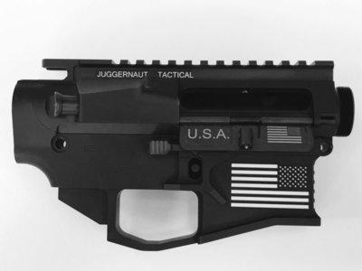 AR-15 80% Lower & Upper Billet Combo - Juggernaut Tactical