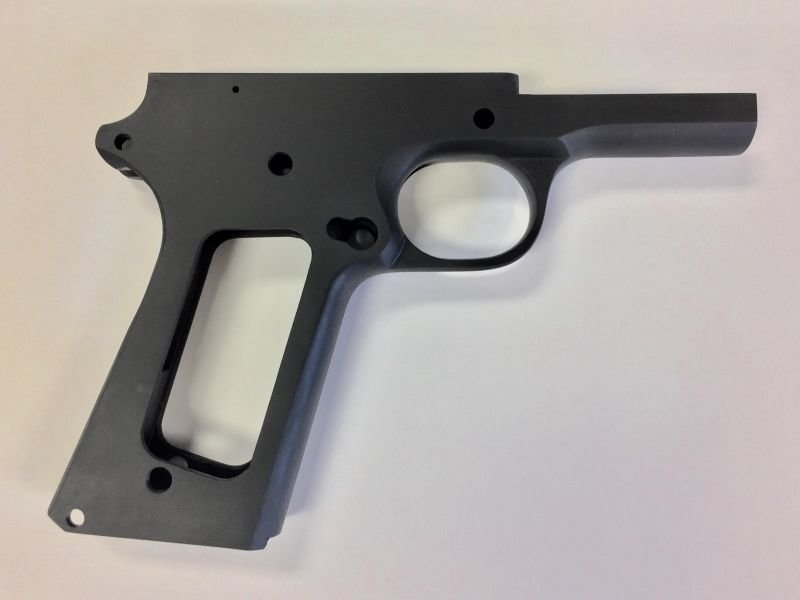 1911 80% Full Size Government 9mm Frame - Series 70 Forged 4140 Steel