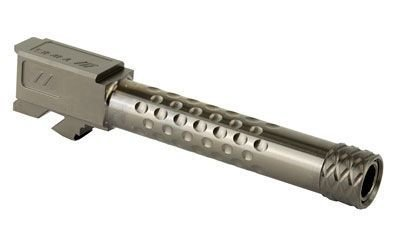 ZEV Dimpled Barrel for Glock 19 - Threaded - Gray