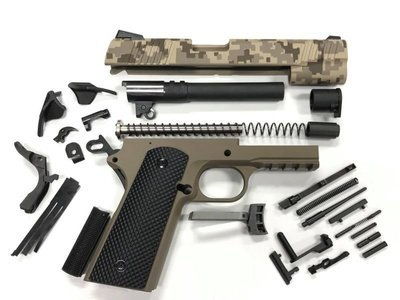 1911 Tactical 80% .45 ACP - Builders Kit - Marine Corps Digital Camo