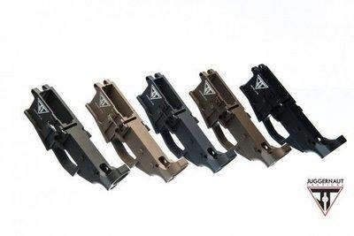 JUGGERNAUT TACTICAL AR-15 80% Lower Receiver Billet
