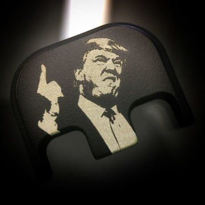 Traditional President Trump -Black Cerakoted Stainless Steel