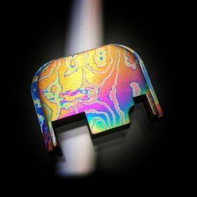 Standard Moku-Ti Glock Back Slide Plate #8