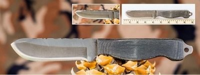 Anza Boddington Knive - Micarta Handle