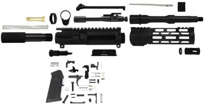 Unassembled AR-15 Pistol Kit - 300 Black-Out NATO 7.5