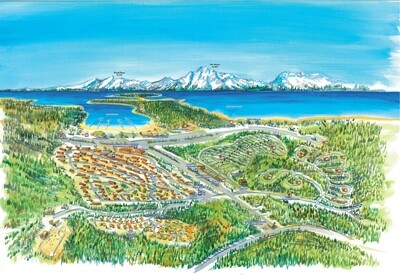 Colter Bay Village Resort Map