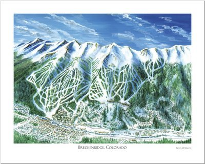 Breckenridge Art Poster