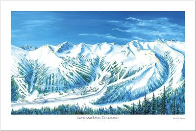 Loveland Basin Art Poster