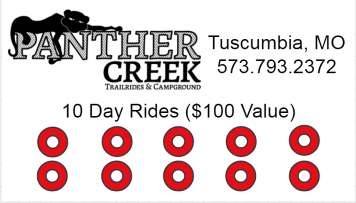 10 Day Rides - $50 ($100 Value) 00002