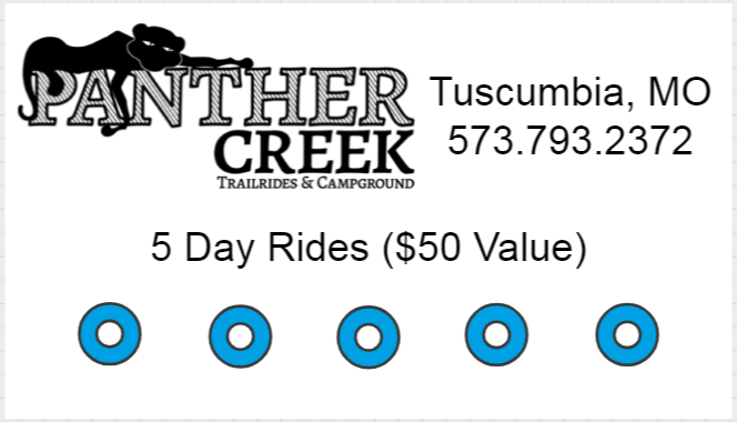5 Day Rides - $25 ($50 value) 00001