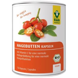 Bio Hagebutte - Kapseln