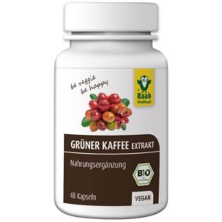 Bio Grüner Kaffee Extrakt - Kapseln