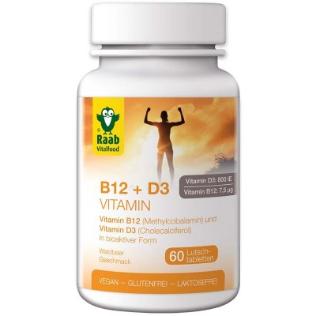 Vitamin B12 + D3 – Tabletten
