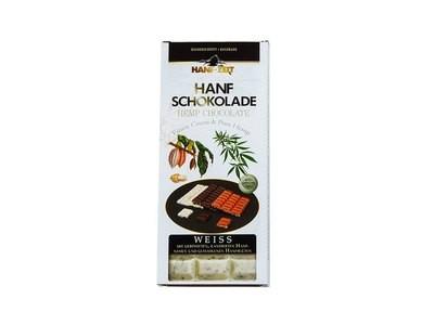 Hanf-Zeit – Hanf Schokolade Weiß 100g
