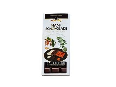 Hanf-Zeit – Schokolade Zartbitter 100g
