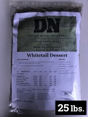 Whitetail Dessert Seed 25lb Bag