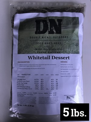 Whitetail Dessert Seed 5lb Bag