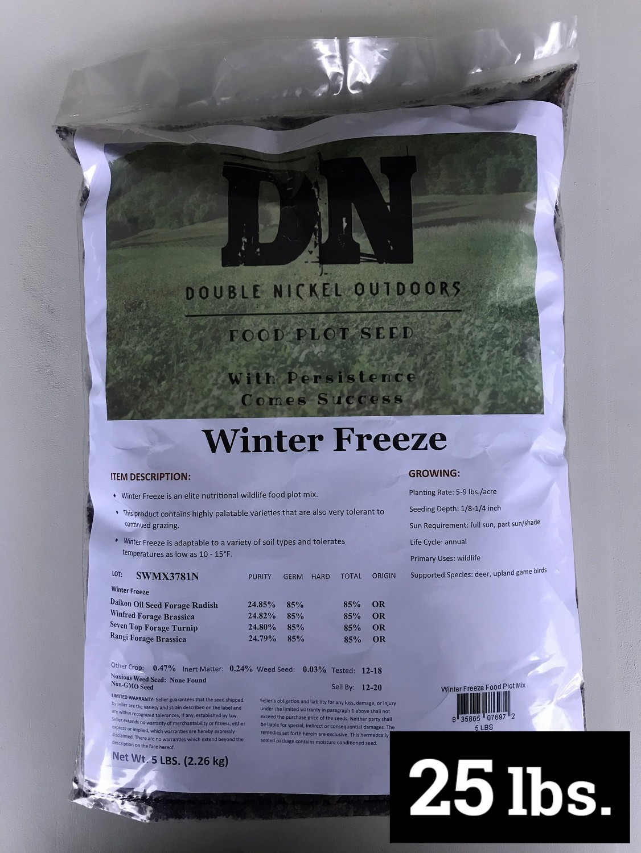 Winter Freeze Seed 25lb Bag