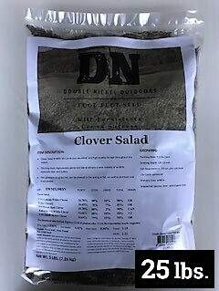 Clover Salad Seed 25lb Bag