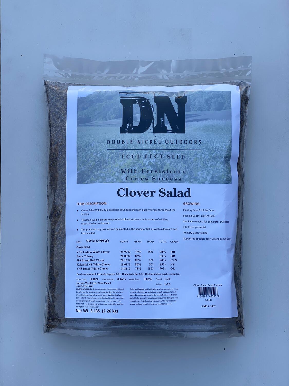 Clover Salad Seed 25lb Bag