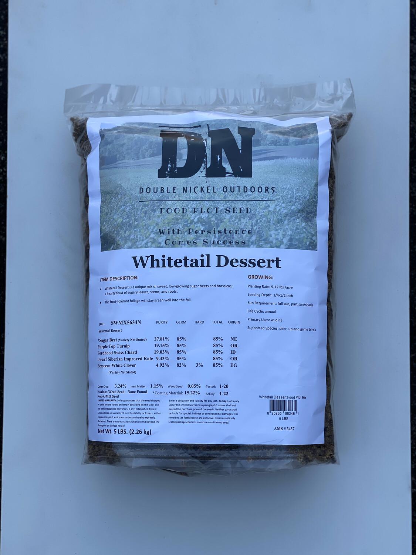 Whitetail Dessert Seed 5lb Bag