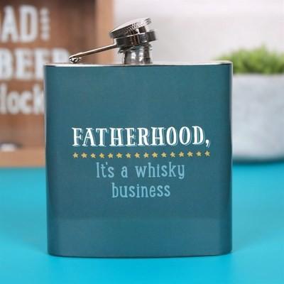FATHERHOOD WHISKY HIP FLASK