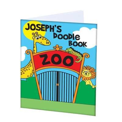 Personalised Zoo - A4 Scrapbook