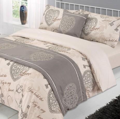 ANTOINETTE BED IN A BAG DUVET SET - NATURAL