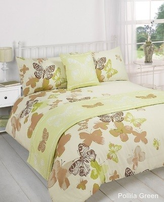 POLILLA BED IN A BAG DUVET COVER SET - GREEN