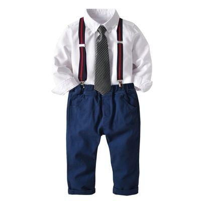 4-Piece Kids Infant Boy Causal Suit