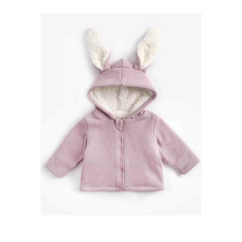 Bunny Ear Hooded Jacket