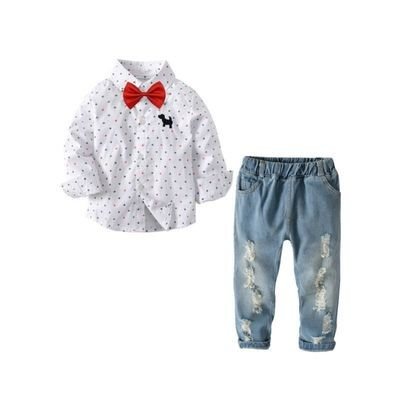 3-piece Toddler Boys Casual Clothing Outfits Set
