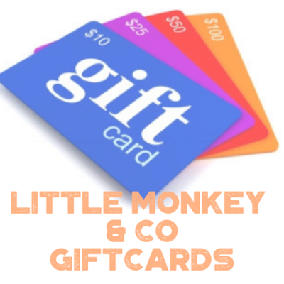 Little Monkey & Co - Gift Cards