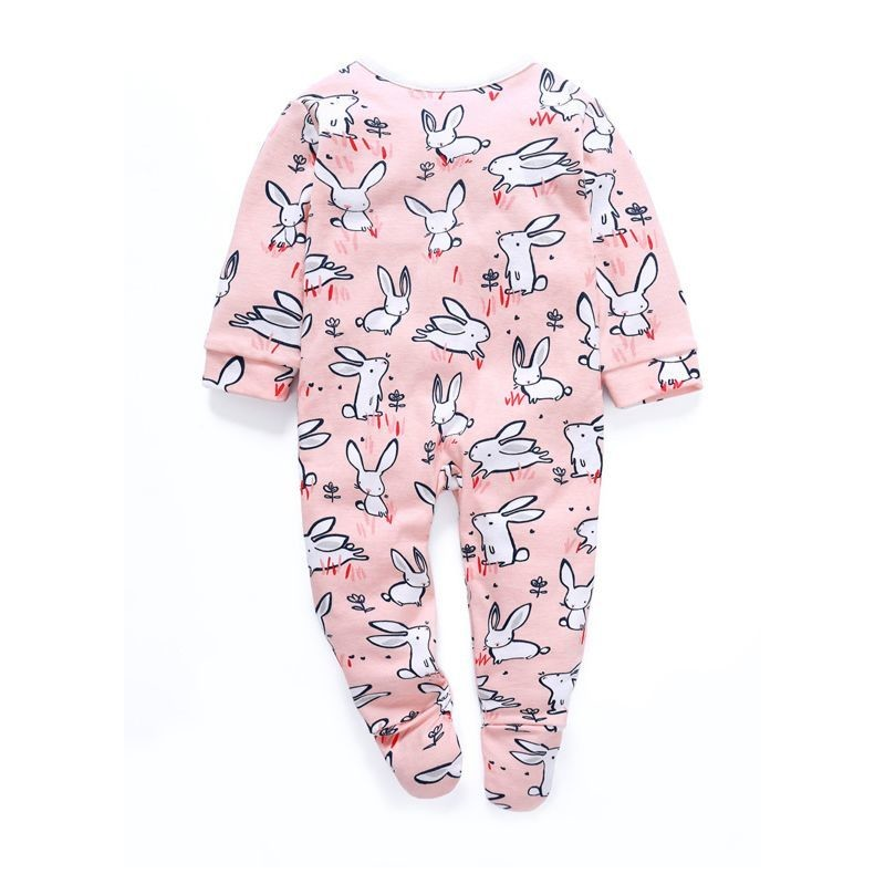 Newborn Easter Long-sleeved Bunny Sleepsuit