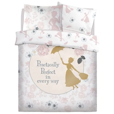 OFFICIAL MARY POPPINS PERFECT REVERSIBLE DUVET SET