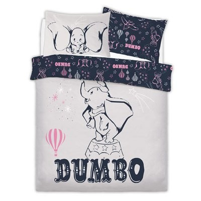 OFFICIAL DUMBO REVERSIBLE DUVET SET