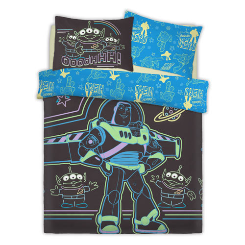 OFFICIAL TOY STORY INTERGALACTIC REVERSIBLE DUVET SET