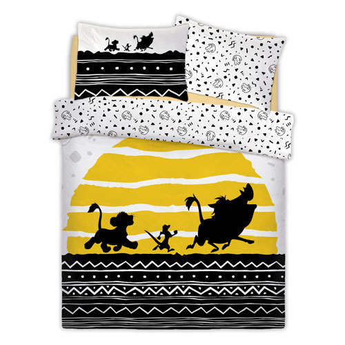 OFFICIAL LION KING TRIBAL SUNRISE REVERSIBLE DUVET SET