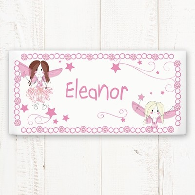 Personalised Fairy Letter Door Plaque