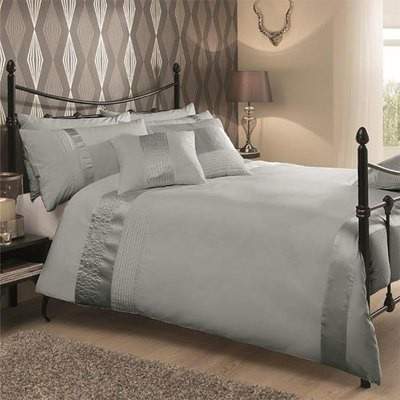 CAPRICE SILVER LUXURY DUVET SET