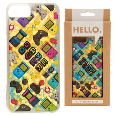 iPhone 678 Phone Case - Gaming Icons Design