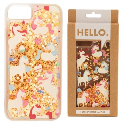 iPhone 6/7/8 Phone Case - Unicorn Sweet Dreams Design