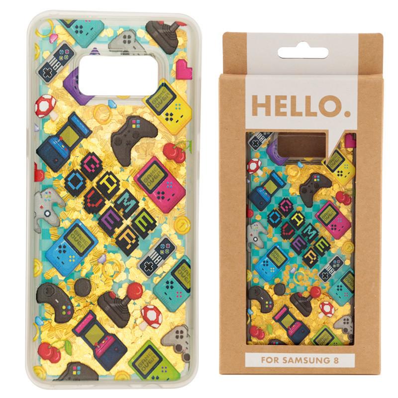 Samsung 8 Phone Case - Gaming Icons Design