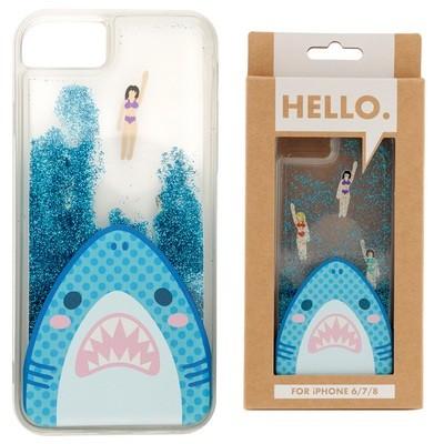 iPhone 6/7/8 Phone Case - Shark Jaws Design